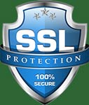 All interaction with this site is conducted via SSL security.